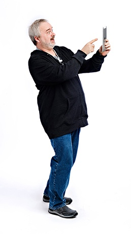Meet Hagen! He's not a stock image. He's a Senior Software Developer at Dejero!