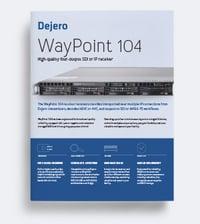 WayPoint 104 Product Brief