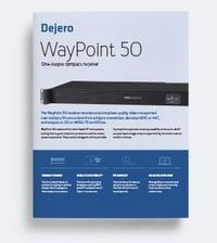WayPoint 50 Product Brief