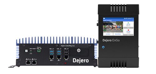 Dejero GateWay 211and EnGo 260