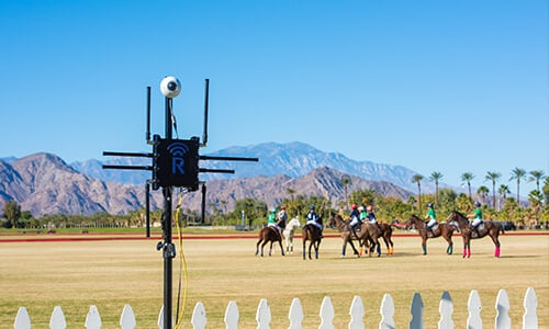 Dejero and Rajant deliver live feeds and telemetry data from challenging equestrian polo match