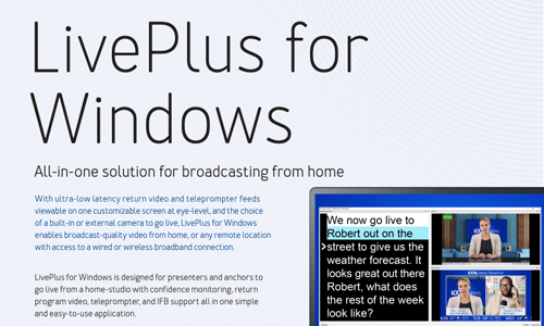 Dejero LivePlus for Windows