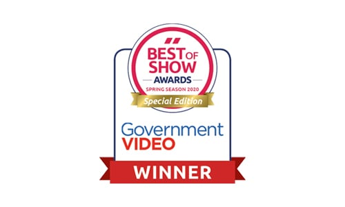 2020 Government Video Special Edition Best of Show Award
