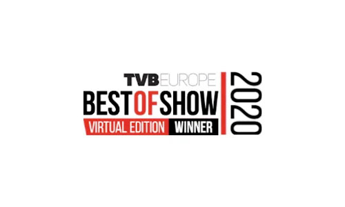 TVBEurope Best of Show 2020 winner