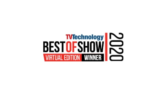 TV Technology Best of Show 2020 winner