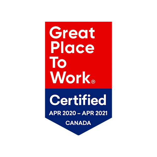 2020-2021 - Great Place to Work Certified