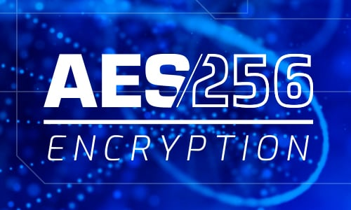 256-bit AES Encryption for Public Safety