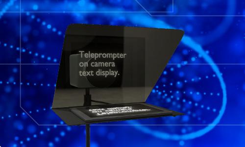 Flip Teleprompter Feed