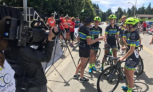 Dejero hits the road in 'Tour de Delta' bike race