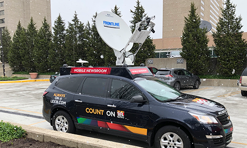 NBC Affiliate WLEX-TV Has Found the Ideal Combination of Reliability, Flexibility and Simplicity with Dejero CellSat