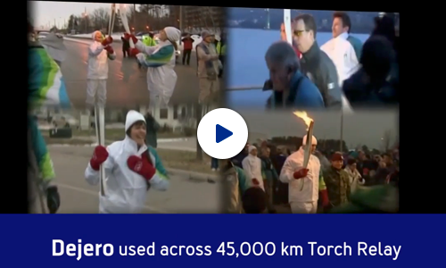 Dejero and the 2010 Winter Games Torch Relay