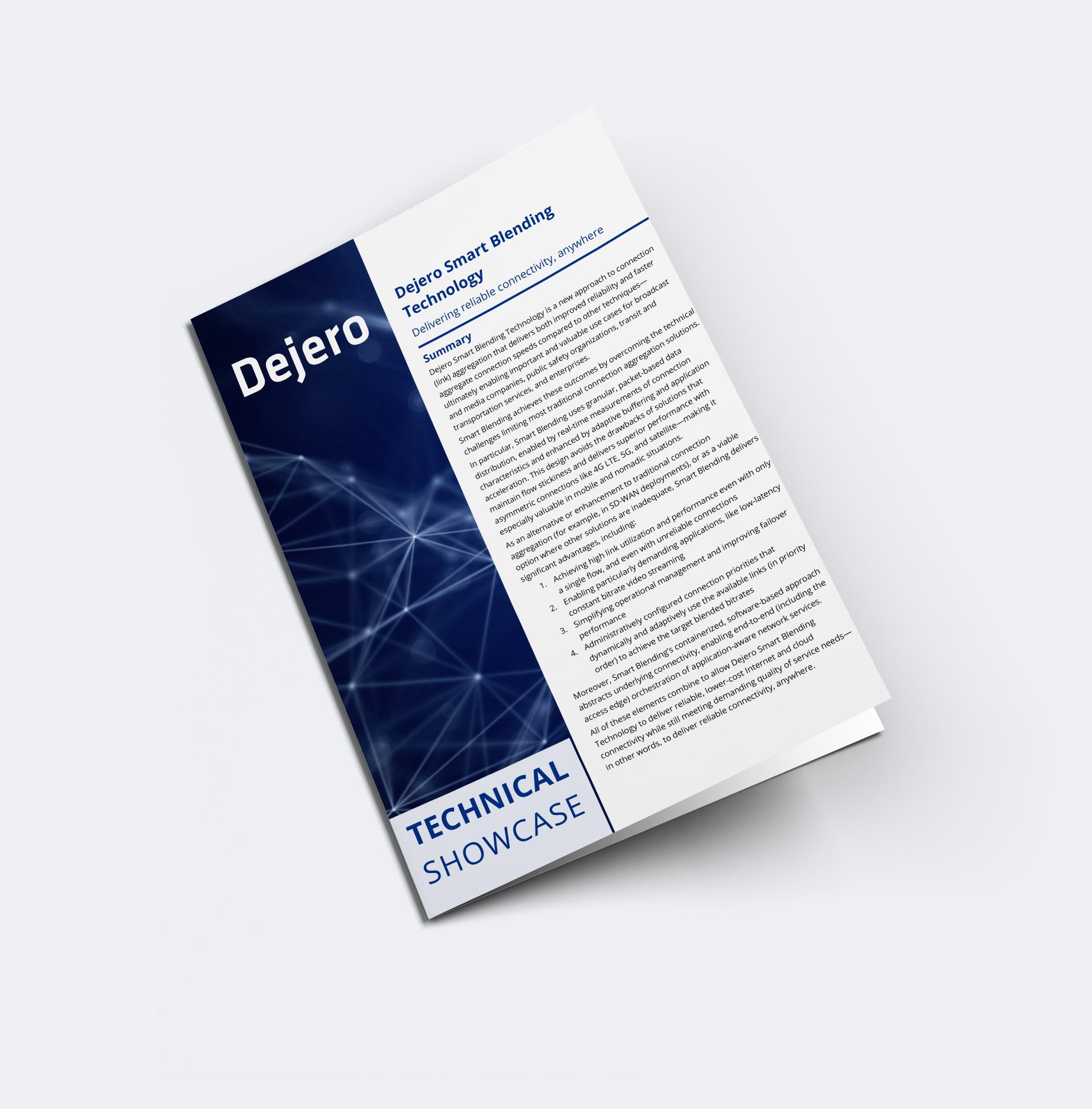 Smart Blending Technology Technical Showcase Paper